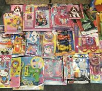 50 Joblot Wholesale Mixed Girls Toy Party Bag Filler Lucky Dip Clearance Resale
