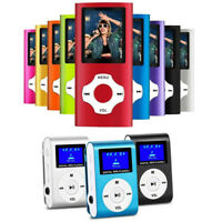 Digital Compact Portable MP3 MP4 Player 64GB SD Photo Viewer Voice Recorder FM Z