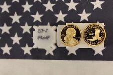 2007-S Proof Sacagawea Dollar Roll - 20 coins - Gem Deep Cameo