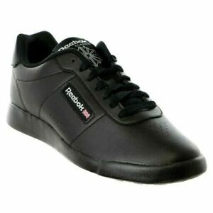 Reebok Classic Princess Black Womens Girls Comfortable Shoes Sizes 5 -11.5