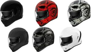 Icon Unisex Airform Motorcycle Full Face Riding Street Road Racing Helmet