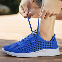 Mens Casual Summer Breathable Beach Surf Mesh Water Shoes Walk Running Sneaker