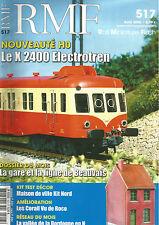 RMF N° 517 X 2400 ELECTROTEN / GARE ET LIGNE DE BEAUVAIS / MAISON VILLE KIT NORD