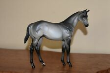 Peter Stone OOAK Horse Model Weanling Steel Dark Gray Grey PRISTINE Condition!