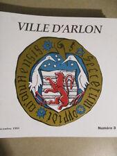 VILLE D'ARLON - DECEMBRE 1991 - NUMERO 3