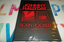 DVD -  JOHNNY HALLYDAY BORN ROCKER TOUR / EDITION 3 DVD + LIVRET - NEUF