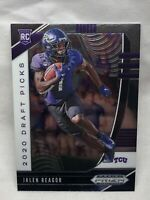 Jalen Reagor 2020 Panini Prizm Draft Picks Rookie Card #117 TCU Eagles RC