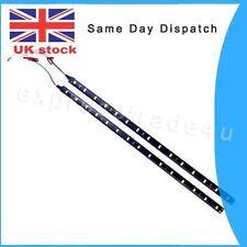 2x 30cm 15 SMD 3528 LED décoration voiture diurne les bandes LED 12V Blanc Cool