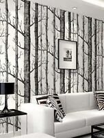 2-Tree Print Wallpaper Sticker Wall Accent Home Accessories Contact Paper Sale