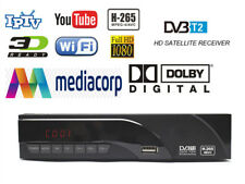 HD DVB-T2 supports H265 youtube wifi dolby sound with Ethernet Port free wifi