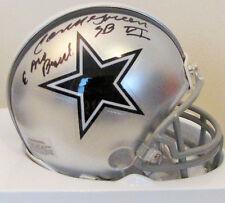Cornell Green Signed Dallas Cowboys Mini Helmet w 2 Inscriptions