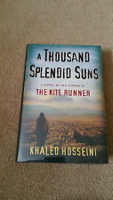 Khaled Hosseini   A THOUSAND SPLENDID SUNS      Double Signed + Publ. Day Dated!