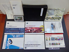 1999 BMW E46 3-Ser 318i 318is 323is 328is Owners Manuals Books Pouch Set 120316B