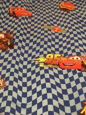 Disney Cars Lightning McQueen Kids Bed Flat Sheet Twin Sheet