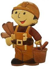 Bob The Builder Wooden Wall Hanging