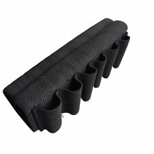6 Shell Rifle bullet/Ammo Holder Elastic Shotgun Butt Stock Shell Belt Bandolier