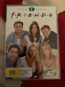 Friends : Season 9 (DVD, 2009, 4 Discs) Courteney Cox Arquette, Jennifer Aniston