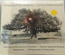 KRZYSZTOF PENDERECKI JONNY GREENWOOD-THRENODY FOR THE VICTIMS OF HIROSHIM*CD NEW