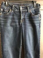 Silver Jeans SUKI Dark Wash Denim Blue Womens 29 / 32 Boot Cut L9916SAL482 Z5107
