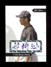 (18) CHI-HUNG CHENG  - Blue Jays - 2006 Just Rookies Certified AUTOGRAPH RC LOT