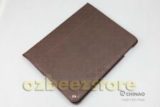 CHINAO Duluxe Leather Smart Case 4 Apple iPad 2 gridpattern CA04-06