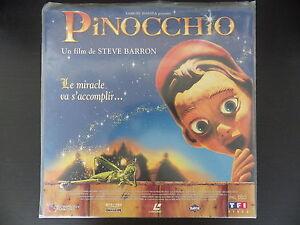 Laserdiscs, Pinocchio, Very Good Condition Complete