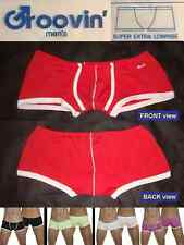 Groovin' Super EXTRA Low-Rise Boxer ~Japanese-Cut ~Snug-Fit ~ RED (95% Cotton) S