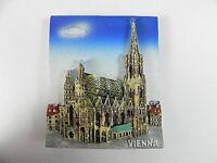 Wien Stephansdom, Souvenir Magnet Poly 3 D ,Österreich Austria,7 cm,neu