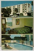 San Diego Ca Interstate 8 Motel Vintage Postcard F6