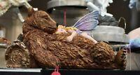 Nemesis Now New Bear Hug 22cm Collectable Sleeping Fairy Figure Ornament Gift