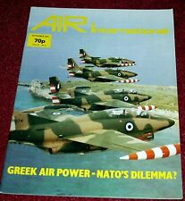 Air International 1981 September Greek Air Force,PC-7,Piper T1040,Sunderland