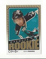 2009-10 O-Pee-Chee #767 Benn Ferriero RC Rookie Sharks