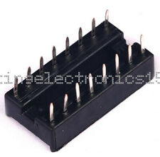 10pcs 16pin Dip Ic Socket Adaptor Solder Type Socket Pitch Dual Wipe Contact Nw