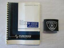 Cushman Electronics Inc Ce 24 Frequency Selective Levelmeter Maintenance Manual