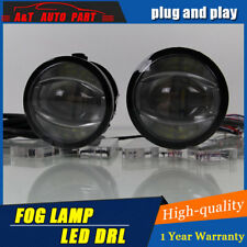 2Pcs LED Fog Lights Assembly with Daytime Running Lights For Honda MOBILIO 13-15