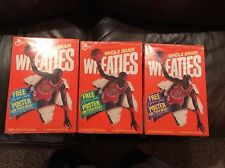 Michael Jordan Wheaties Boxes A B & C Poster Collectable 1989 Bulls - Sealed New