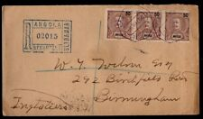 Angola: 1906 Reg. cover to UK from Benquella via Lisbon