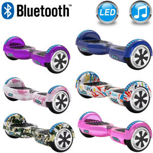 Self Balance Scooter 6.5 Hoverboard Bluetooth Electric Scooters 2Wheels Kid Gift