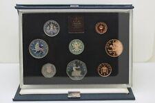 1983 Proof  set - GB - UK - 8 Coin Year Set Blue Case Royal Mint