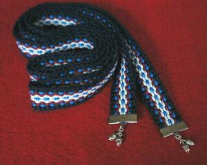 Trachtenbinder - Trachtenband - Hemdschmuck Kordel - Wollband 9