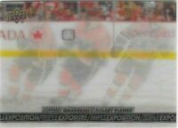 2017-18 Upper Deck Tim Hortons TRIPLE EXPOSURE Johnny Gaudreau TE-2