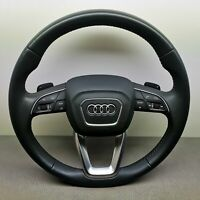 AUDI Q7 4M Multi Steering Wheel With Airbag OEM 4M0419091M Granit Grau