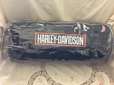 Harley Davidson Roll Up Travel Picnic Beach Road Trip Camp Blanket Fleece