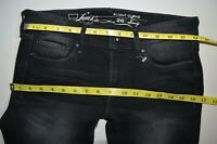NEW LEVI Slight Curve Black SKINNY JEANS size W26 L32 uk 8  women ladies stretch