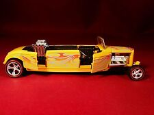 M2 '32 FORD STRETCH LIMOUSINE OPENING DOORS & HOOD RUBBER TIRE LIMITED EDITION