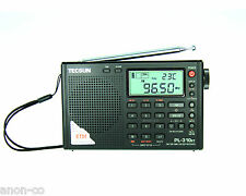 TECSUN PL-310ET (Black Color) PLL DSP Multi Band Radio  ** ENGLISH VERSION**