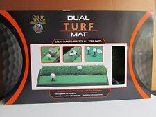 Golf Dual Turf Mat New Practice Champ Drive Putt Rough Green Tommy Armour World
