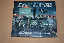 "IRON MAIDEN-"" A MATTER OF LIFE AND DEATH"" CD + DVD LIMITED EDITION SLIMCASE 2006"