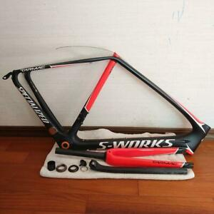 Specialized S-WORKS TARMAC frame SL5 Black Red 56cm Excellent Condition Japan