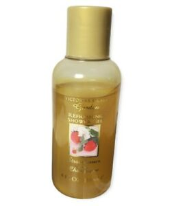 Victoria's Secret Garden Strawberries and Champagne Shower Gel 4 Oz, 70% Full.
